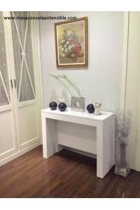 Mesa en stock 100x40 laminado blanco 3 metros