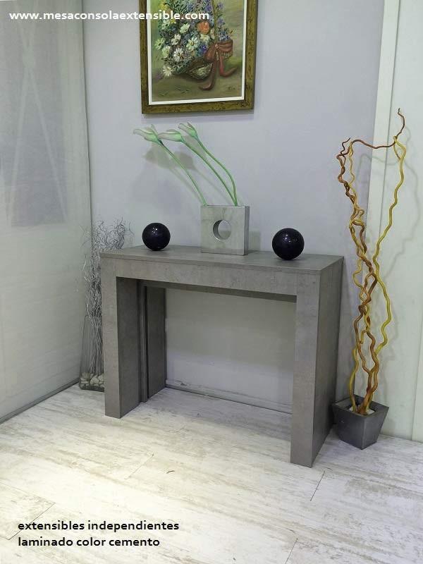 Mesa consola extensible comedor multifunción con poco fondo estrecha